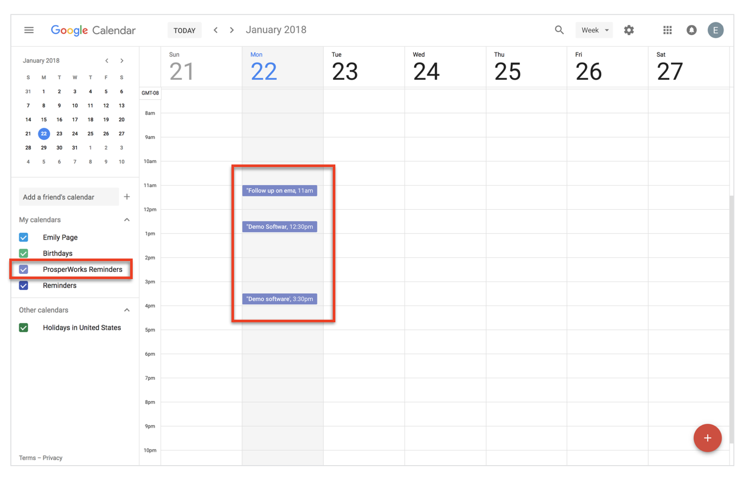 Syncing Tasks to Google Calendar – Copper Help Center