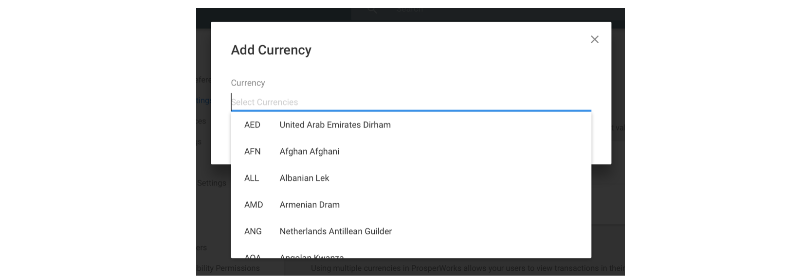 Working With Multi Currency Copper Knowledge Base
