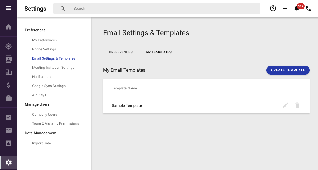 Create, edit and apply Email Templates – Copper Help Center